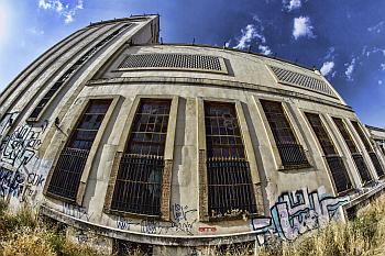Edificio Abandonado Estación